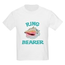 Beach Wedding Ring Bearer T-Shirt