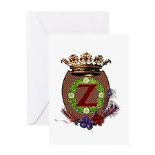 Z Crest Greeting Card
