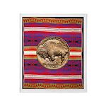 Indian Design-02bb Throw Blanket