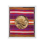 Indian Design-03bb Throw Blanket