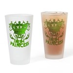 Crown and Scroll Irish Princess Drinking Glass