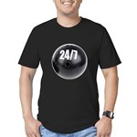 Bowling 24/7 Men's Fitted T-Shirt (dark)