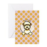 Soft coated wheaten terrier Greeting Cards