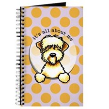 Funny Wheaten Terrier Journal