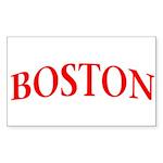 BOSTON Sticker (Rectangle 50 pk)