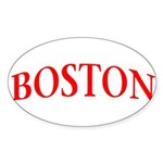 BOSTON Sticker (Oval 10 pk)