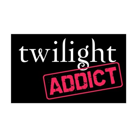 Twilight Addict 35x21 Wall Peel