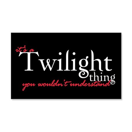 Twilight Thing 20x12 Wall Peel