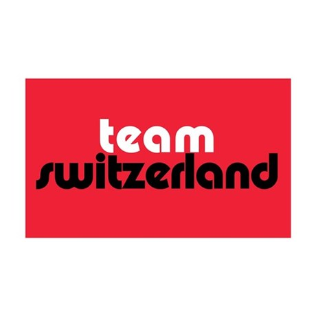 Team Switzerland 35x21 Wall Peel