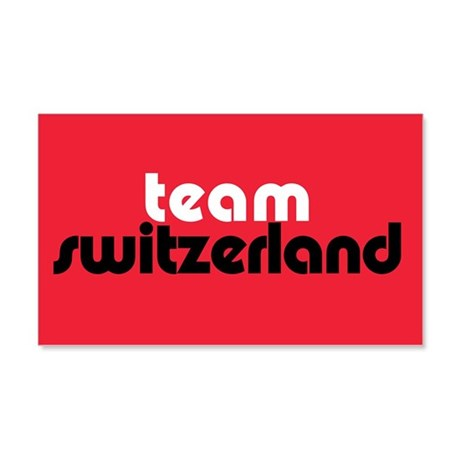 Team Switzerland 20x12 Wall Peel