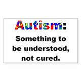 Understand Autistics Rectangle Decal