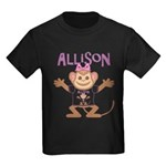 Little Monkey Allison Kids Dark T-Shirt