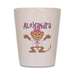 Little Monkey Alexandra Shot Glass