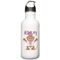 Little Monkey Ashley Stainless Water Bottle 1.0L