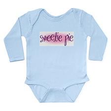 Sweetie Pie Long Sleeve Infant Bodysuit