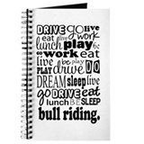 Bull Riding Gift Journal