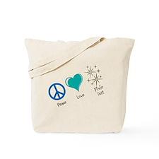 Peace, Love, Pixie Dust - Tote Bag