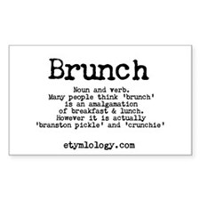 Brunch Decal