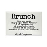 Brunch Fridge Magnet
