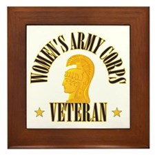 WAC Veteran Framed Tile