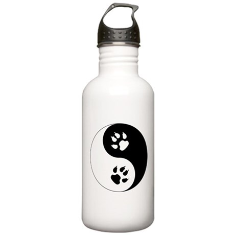 Yin Yang Cat Paws Stainless Water Bottle 1.0L