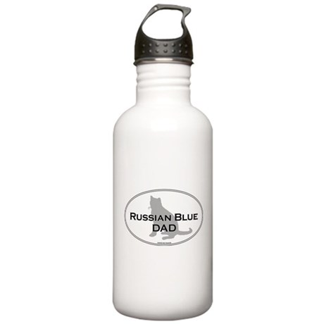 Russian Blue Dad Stainless Water Bottle 1.0L
