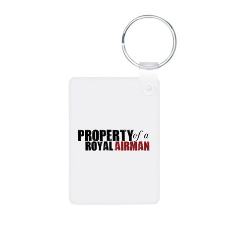 Property of a Royal Airman - Aluminum Photo Keycha