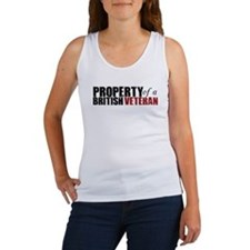 Property of a British Veteran - Women's Tank Top