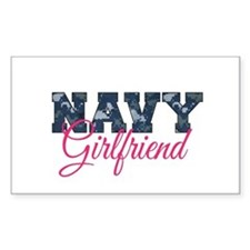 Cute Navy girlfriend Decal