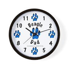 Beagle Dad   Wall Clock