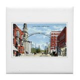Marietta, Ohio Yesteryear Tile Coaster