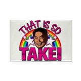 So Takei Rectangle Magnet