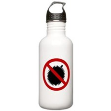 NO Durian Thai Sign Water Bottle