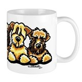 Wheaten Terrier Cartoon Small Mug