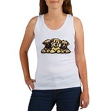 Wheaten Terrier Cartoon Women's Tank Top