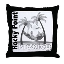 Chillin' in Mexico Throw Pillow