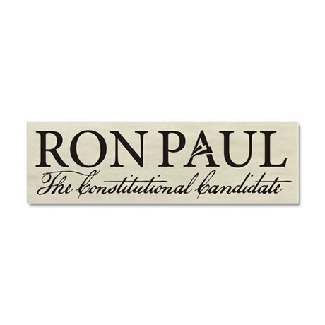 Ron Paul 2012 Car Magnet 10 x 3