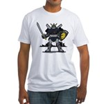 Black Knight Fitted T-Shirt