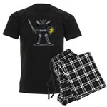 Black Knight Men's Dark Pajamas