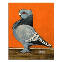 Blue Blondinette Pigeon Posters