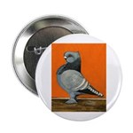 "Blue Blondinette Pigeon 2.25"" Button (10 pack"