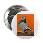"Blue Blondinette Pigeon 2.25"" Button"