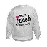 Team Jacob Mommy Sweatshirt