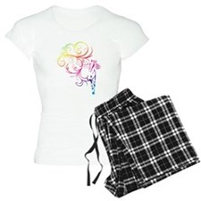 Rainbow Horse Flourish Pajamas