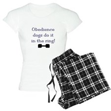 obedience dogs do it in the Pajamas