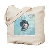 The Book of Mermaids Shell & Turtle Tote Bag
