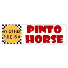My Other Ride Is A Pinto Horse Bumper Bumper Sticker
