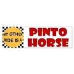 My Other Ride Is A Pinto Horse Bumper Sticker