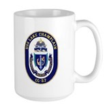 USS Lake Champlain CG 57 Mug