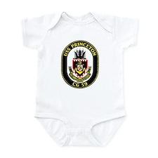 USS Princeton CG 59 Infant Creeper